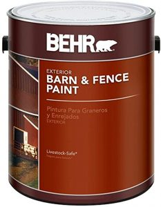 BR Barn and Fence Paint