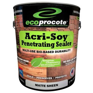 EcoProCote Acri-Soy Wood Sealer – Best Concrete Sealer