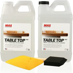 MAS Table Top Pro Resin And Hardener One Gallon Kit