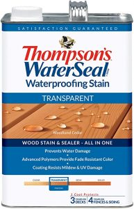 Thompson's Water Seal Stain