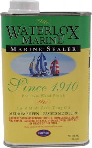 Waterlox Marine Sealer – Most Natural Product