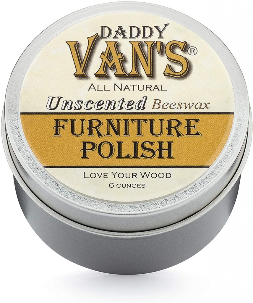 Daddy Van's All Natural Unscented Beeswax Furniture Polish