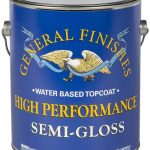 General Finishes QTHSG High-Performance Water Based Topcoat